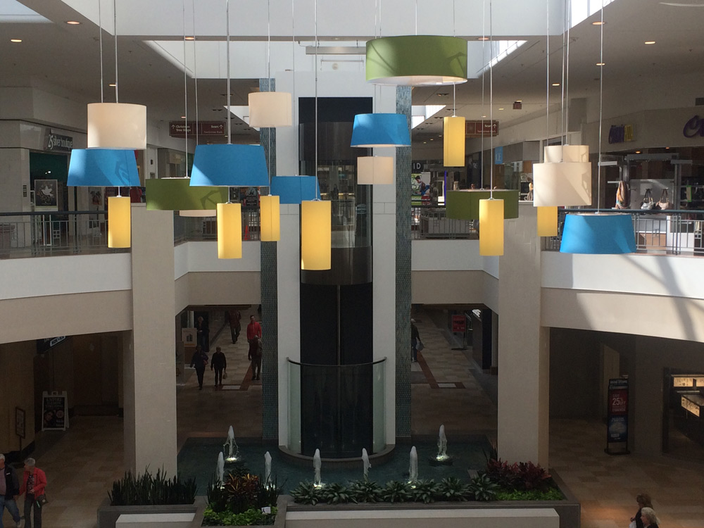 Flex Electric upgrades Colonie Center lighting.