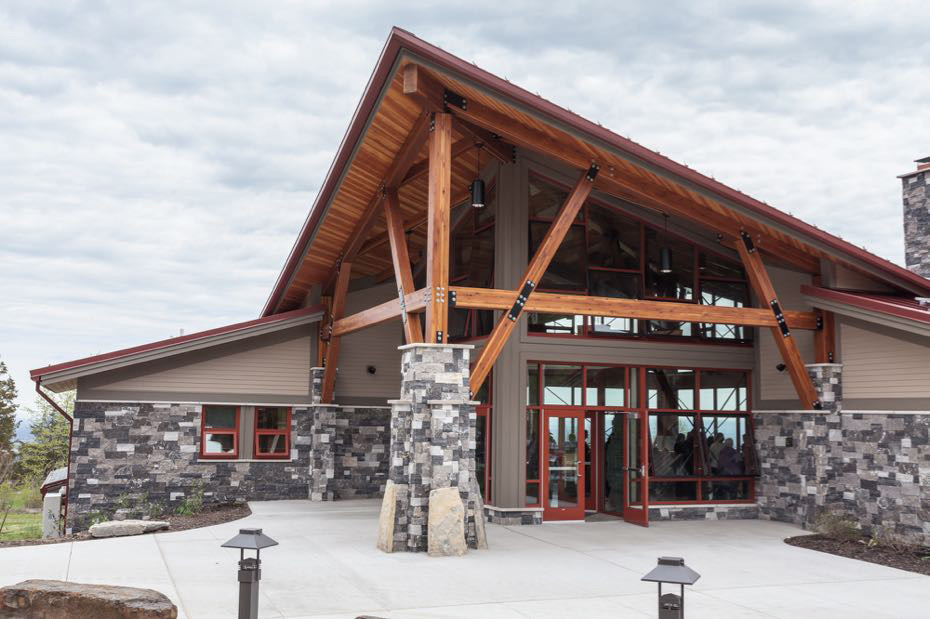 Thacher State Park Visitor Center